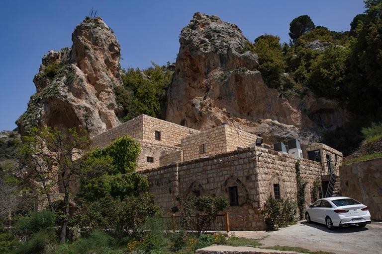 LB_190507 Libanon_0185 Gibran-museo entisessä luostarissa Bchar