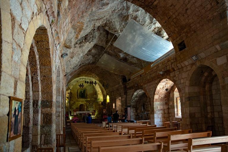 LB_190507 Libanon_0275 Qozhayan Pyhän Antonion luostarin kirkko