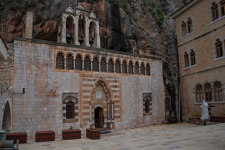 LB_190507 Libanon_0285 Qozhayan Pyhän Antonion luostarin kirkko