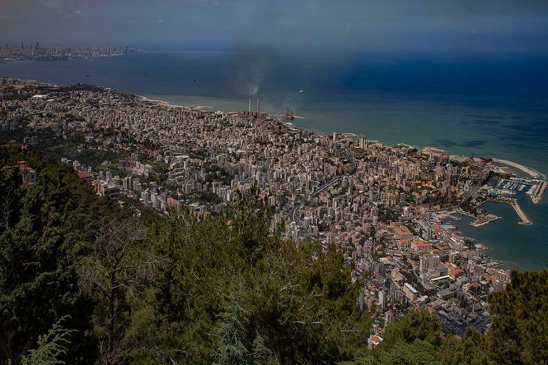 LB_190508 Libanon_0045 Näkymää Libanonin neitsyen tornista Ha