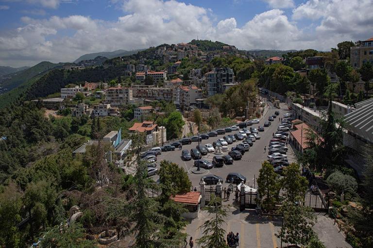 LB_190508 Libanon_0052 Harissaa Libanonin neitsyen tornista Kesk