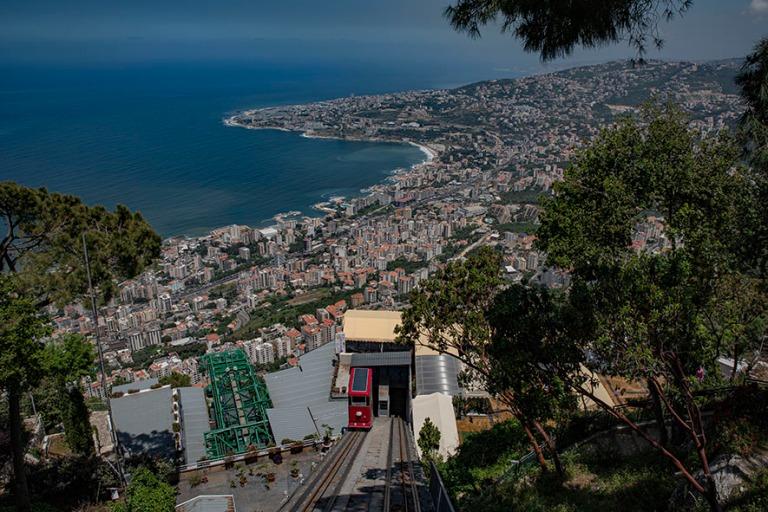 LB_190508 Libanon_0081 Téléphériquen Harissa-Jounieh-kaapelir