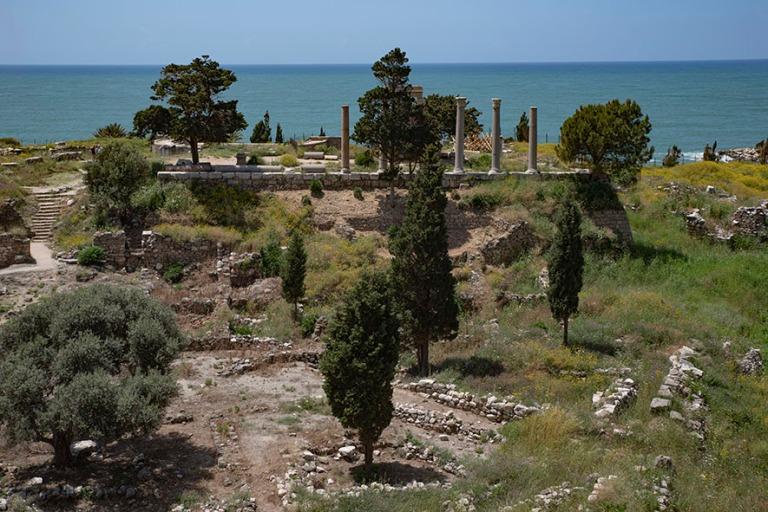 LB_190508 Libanon_0151 Bybloksen arkeologinen alue roomalaisille