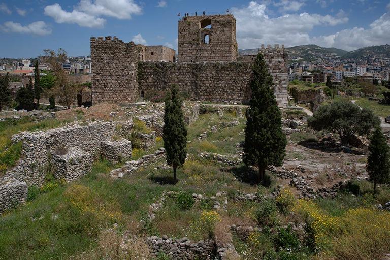 LB_190508 Libanon_0210 Bybloksen ristiretkeläislinna ja foiniki