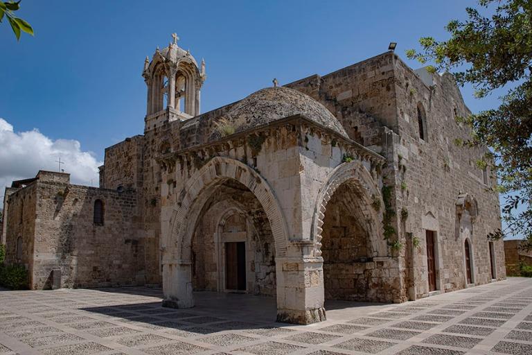 LB_190508 Libanon_0278 Bybloksen Saint John-Marcin ristiretkelä