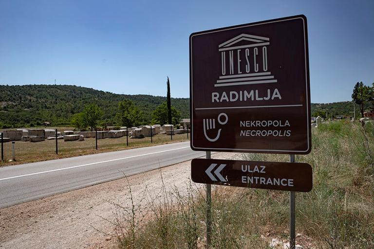 BA_190628 Bosnia-Hertsegovina_0066 Radimljan nekropolin UNESCO-k