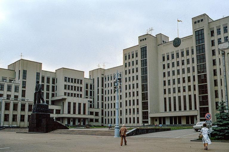 BY086705 Valko-Venäjä (Neuvostoliitto) SNTn hallintorakennus M
