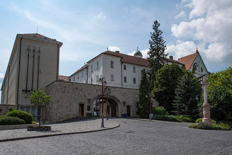 HU_190624 Unkari_0013 Pannonhalman benediktiiniluostari