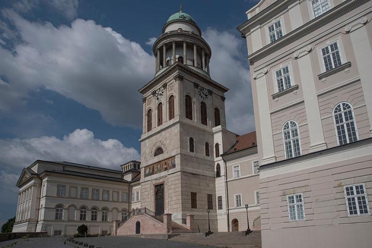 HU_190624 Unkari_0026 Pannonhalman benediktiiniluostari