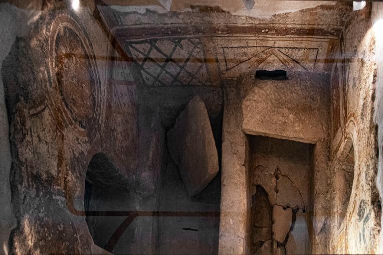 HU_190625 Unkari_0086 Pécsin Sopianaen varhaiskristillinen haut