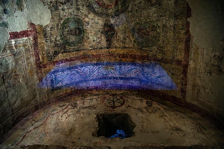 HU_190625 Unkari_0114 Pécsin Sopianaen varhaiskristillinen haut