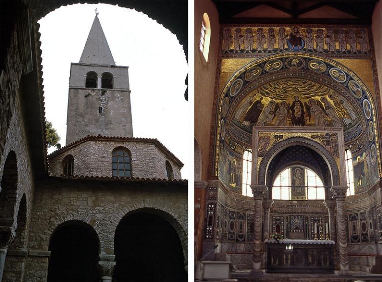 HR140303 Kroatia Eufrasiuksen basilika Porecissa 1993