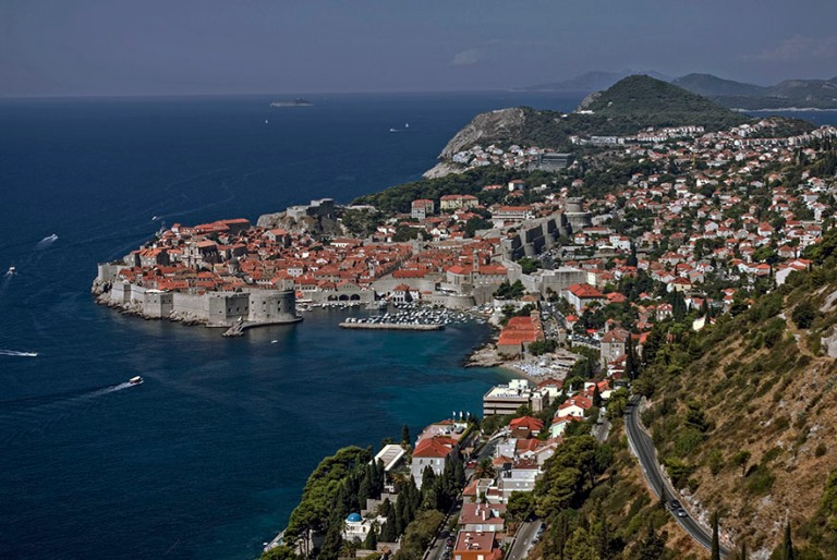 HR_070903 002 Kroatia Dubrovnikin vanha kaupunki ylätieltä