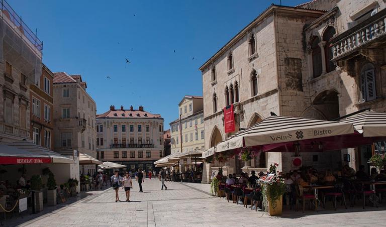 HR_190630 Kroatia_0142 Splitin Narodni trg (Pjaca)