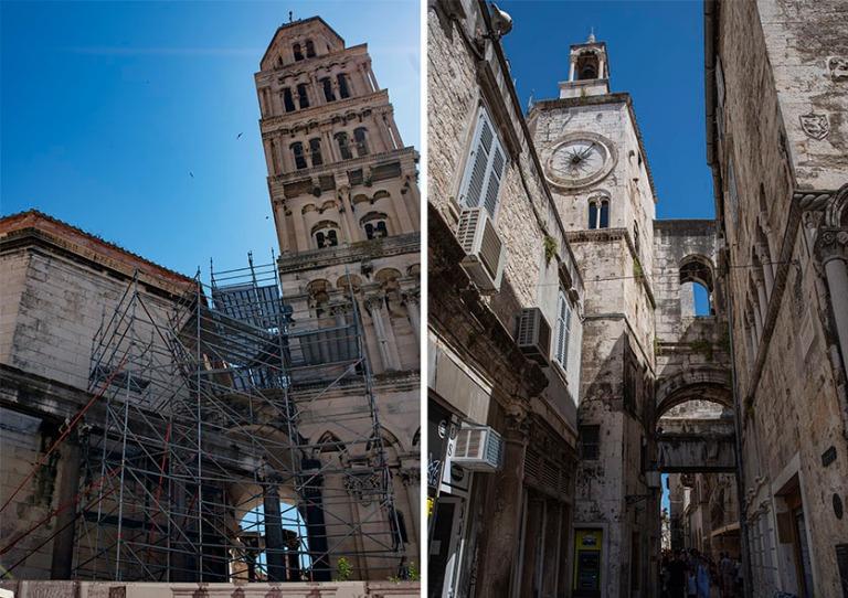 HR_190630 Kroatia_0188 Splitin Diocletianuksen mausoleumi ja kat