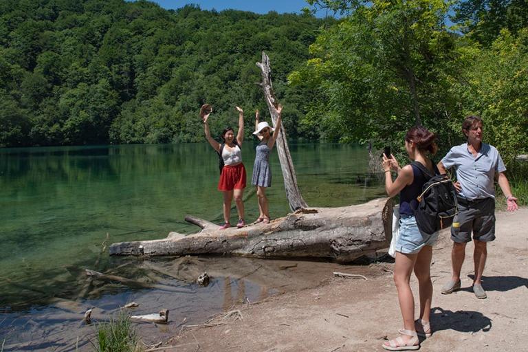 HR_190702 Kroatia_0186 Plitvicen kansallispuiston turismia
