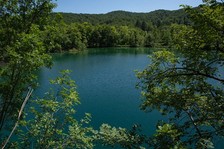HR_190702 Kroatia_0242 Plitvicen kansallispuiston Jezero Galovac