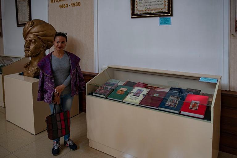 UZ_191101 Uzbekistan_0182 Baburin ja maailmankulttuurin museo An