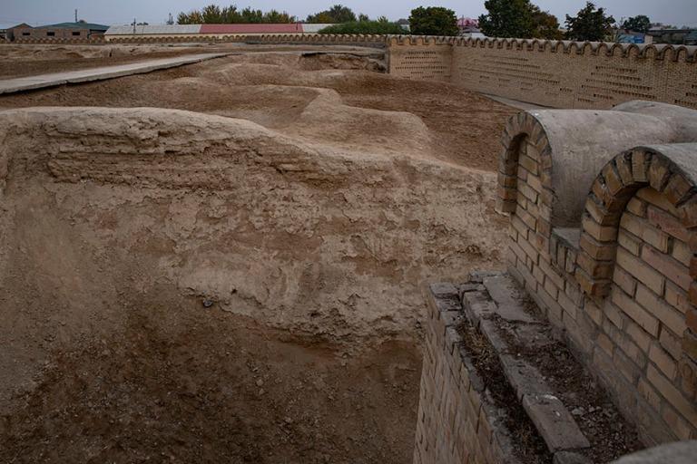 UZ_191101 Uzbekistan_0242 Quvan arkeologinen alue Ferganan laaks