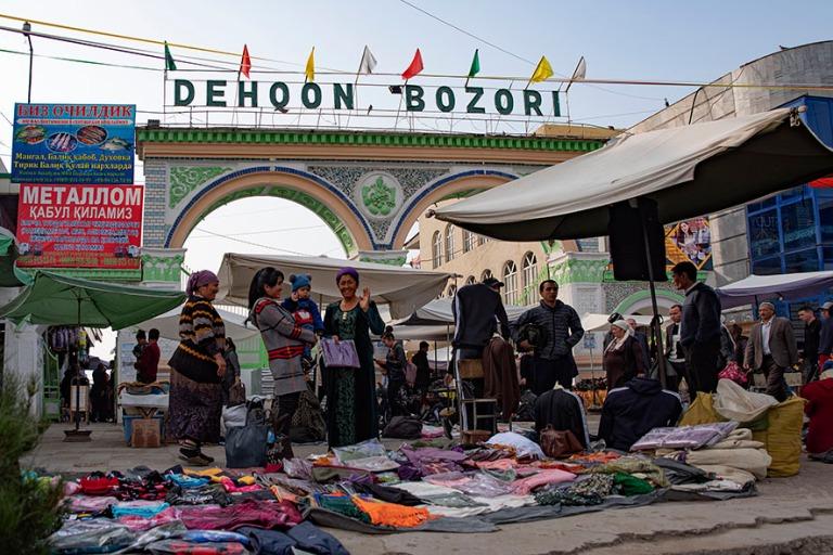 UZ_191102 Uzbekistan_0241 Chustin Dehqon Bozori (basaari) Fergan