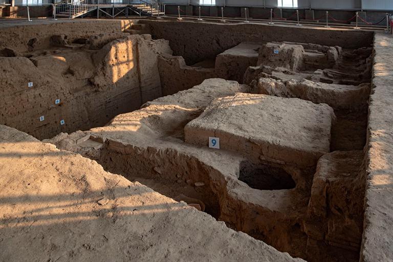 UZ_191102 Uzbekistan_0326 Axsikentin arkeologinen alue Ferganan