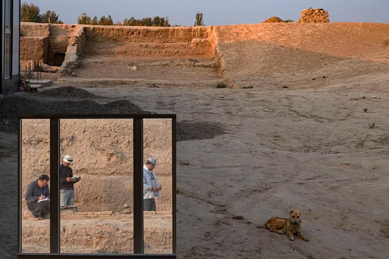 UZ_191102 Uzbekistan_0337 Axsikentin arkeologinen alue Ferganan