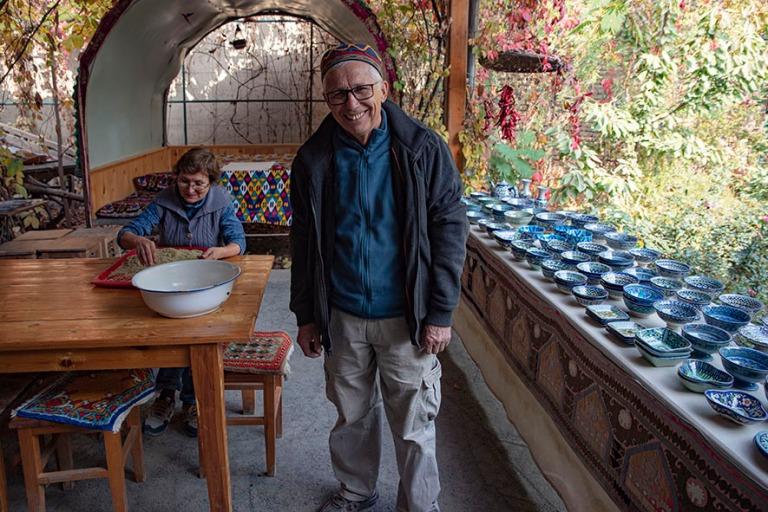 UZ_191103 Uzbekistan_0115 Rustam Usmanovin taidekeramiikkapajan