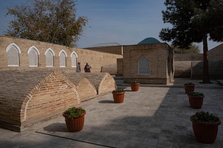 UZ_191103 Uzbekistan_0203 Kokandin Dakhma-I-Shokhonin kuninkaall