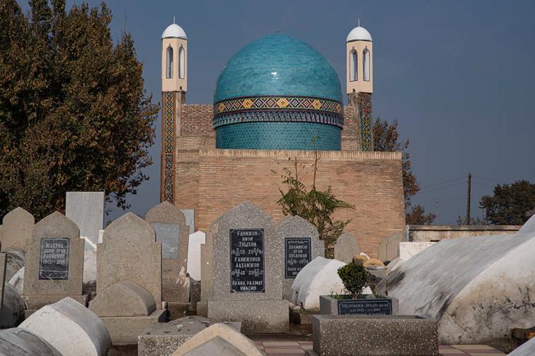 UZ_191103 Uzbekistan_0210 Kokandin Modari Khanin mausoleumi Dakh