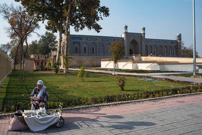 UZ_191103 Uzbekistan_0300 Kokandin Khudayar Khanin palatsi Ferga