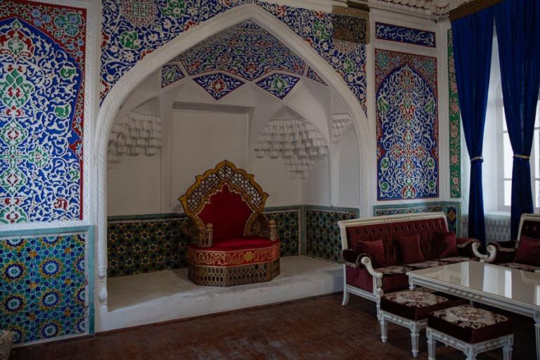UZ_191103 Uzbekistan_0333 Kokandin Khudayar Khanin palatsi Ferga
