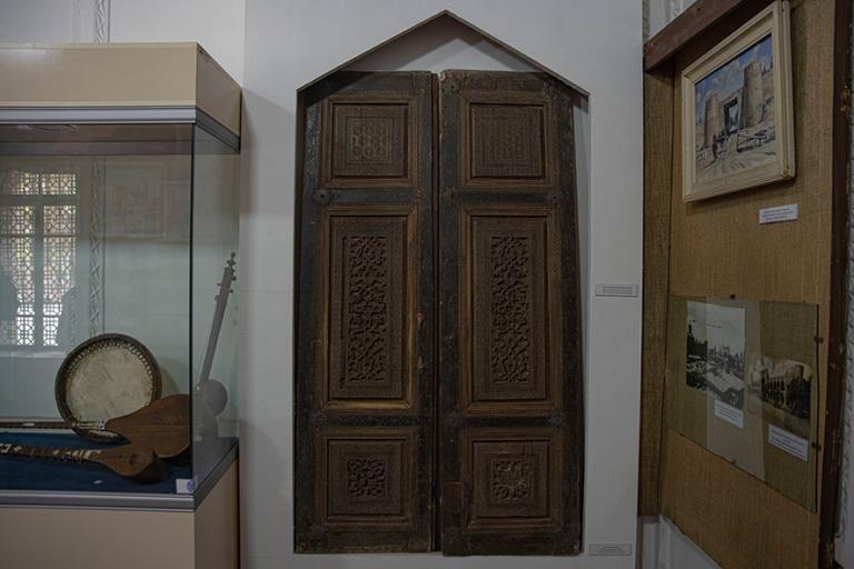 UZ_191103 Uzbekistan_0373 Kokandin Khudayar Khanin palatsi, haar
