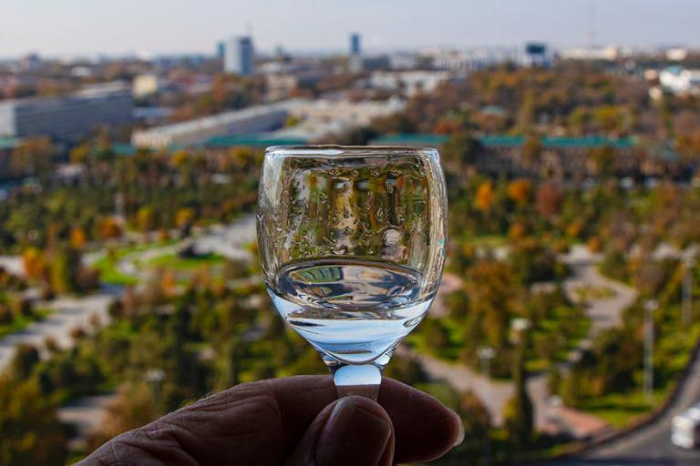 UZ_191106 Uzbekistan_0066 Malja Taškentin hotelli Uzbekistanin