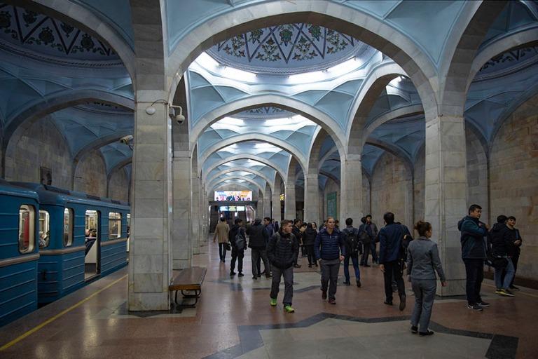 UZ_191106 Uzbekistan_0318 Taškentin Alisher Navoiyn metroasema
