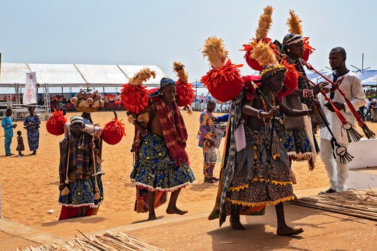 BJ_190110 Benin_0430 Ouidahin Voodoo-festivaalit