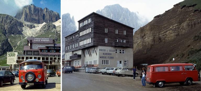 IT016109 Italia Dolomiittien Passo Pordoi 1983