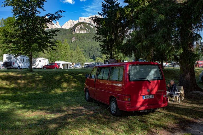 IT_190705 Italia_0003 Cortinan Campeggio Dolomiti Veneton Bellun