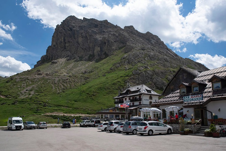 IT_190705 Italia_0140 Dolomiittien Passo Pordoi Veneton ja Trent