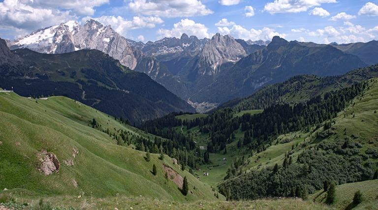 IT_190705 Italia_0177 Dolomiittien Passo Sella Trentino Alto Adi