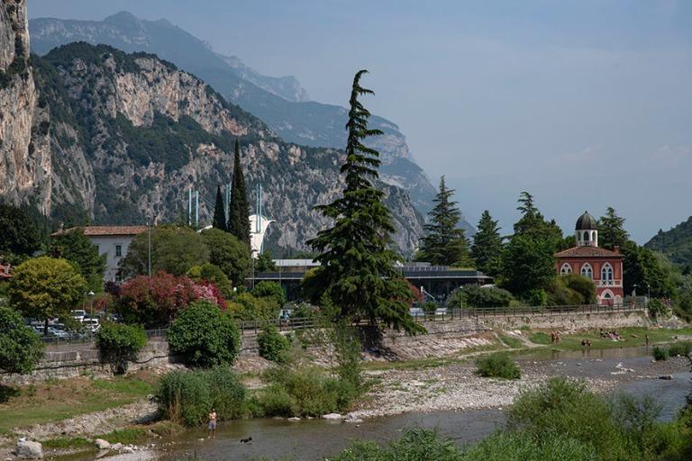 IT_190706 Italia_0018 Arco Trentossa Gardajärven pohjoispuolell