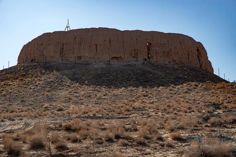 UZ_191104 Uzbekistan_0061 Zarathustralaisten linnoitus Chipiqiss