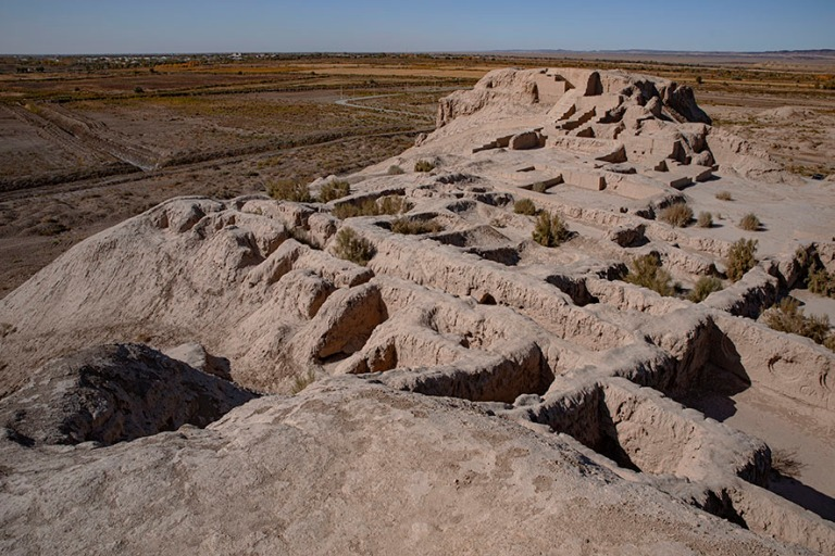 UZ_191104 Uzbekistan_0154 Toprak Kalan antiikin linna Karakalpak