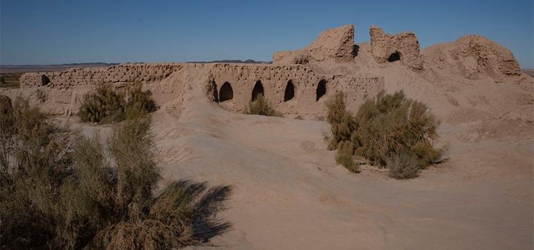 UZ_191104 Uzbekistan_0163 Toprak Kalan antiikin linna Karakalpak
