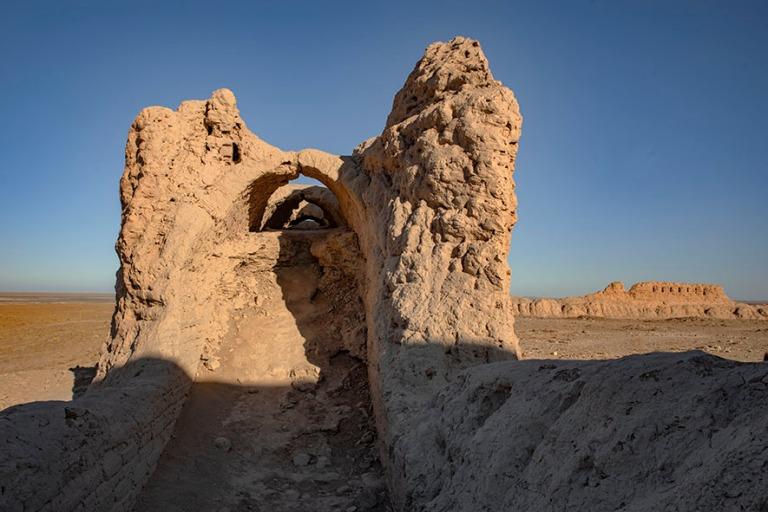 UZ_191104 Uzbekistan_0239 Ayaz Kalan linnoitus Karakalpakstaniss