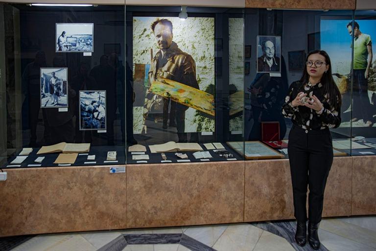 UZ_191105 Uzbekistan_0039 Nukusin taidemuseon Igor Savitskyn huo