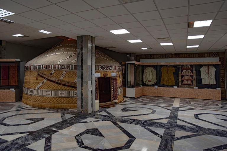 UZ_191105 Uzbekistan_0123 Nukusin taidemuseo Karakalpakstanissa
