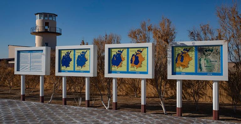 UZ_191105 Uzbekistan_0385 Araljärven kuivumishistoria Mojnaqiss