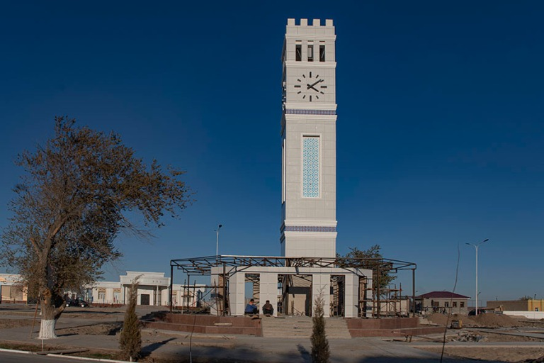 UZ_191105 Uzbekistan_0430 Mojnaqin kellotorni Karakalpakstanissa