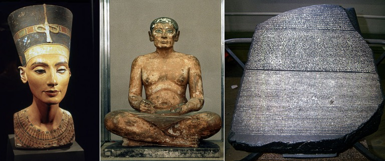 DE094116 Saksa Kuningatar Nefertitin pää Berliinin Egyptiläis