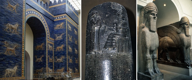 DE231319 Saksa Babylonian Ištarin portti Berliinin Etuaasilaise